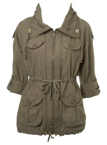 Khaki Utility Jacket @ Miss Selfridge £45.00