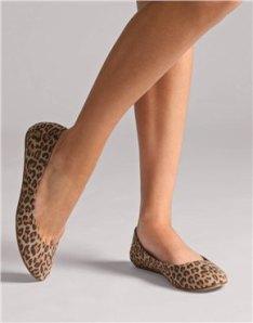 Leopard Print Ballet Pumps @ ASOS £18.00