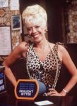 Corrie's Bet Lynch, she loved her leopard print!