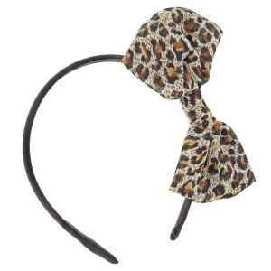 Animal Print Bow Headband @ Miss Selfridge was £5.00 now £2.50