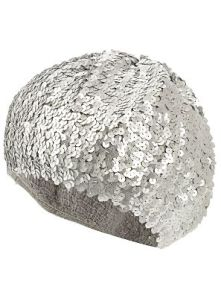 Silver Sequin Hat £5.00