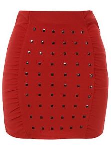 Studded Skirt Also Available in Black £10.00