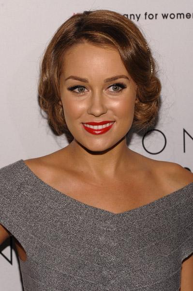 Lauren Conrad Red Lips