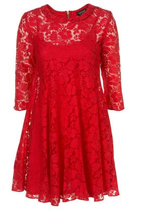 Lace Dress on Peter Pan Swing Lace Dress  Topshop   48