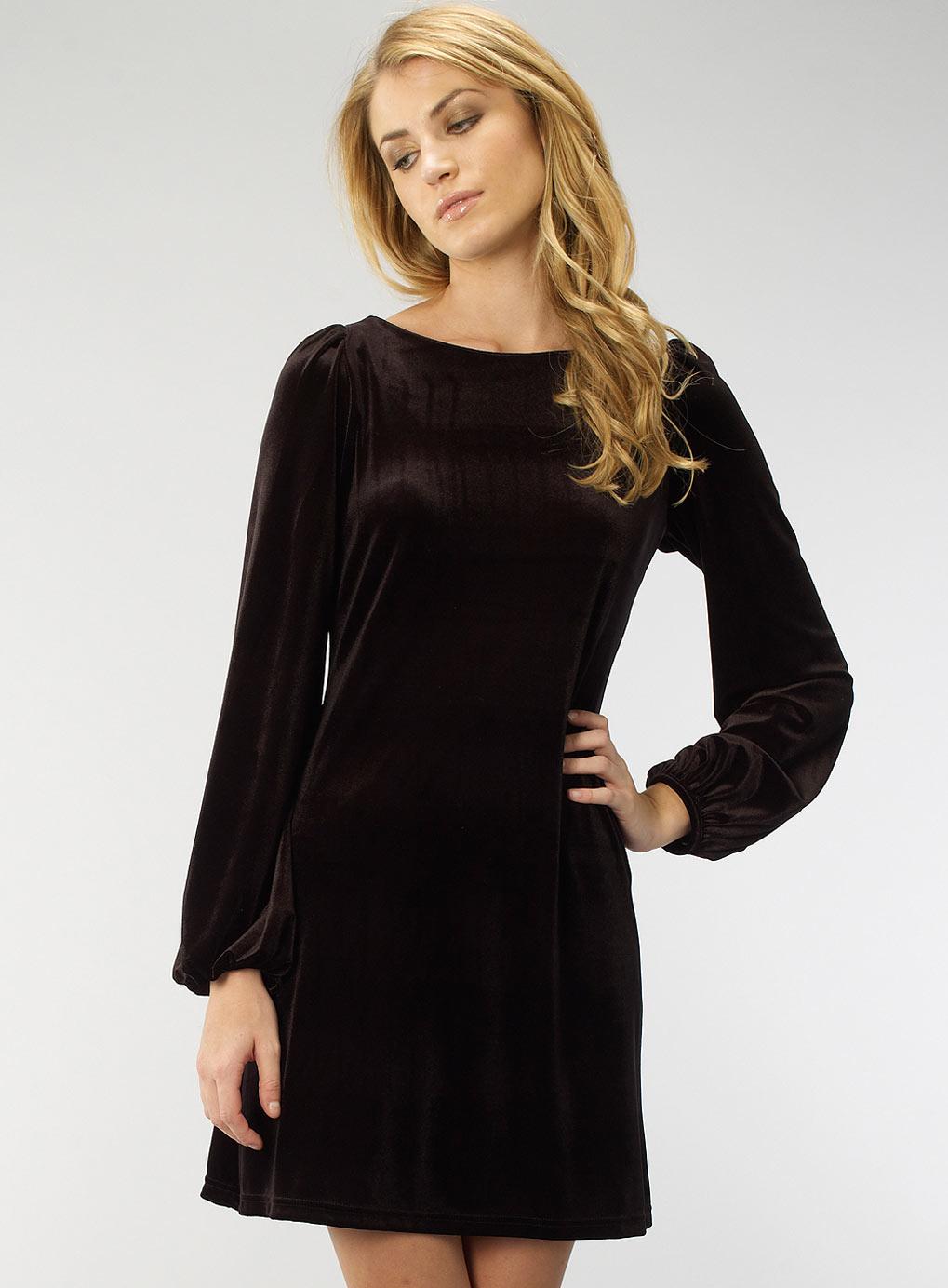 Black Velvet Dresses - summer dresses 2012