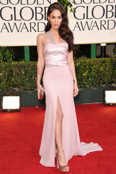 Megan Fox Golden Globes 2011