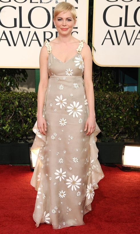 Michelle Williams Golden Globes 2011