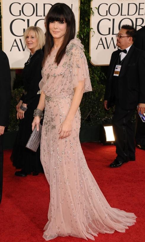 Sandra Bullock Golden Globes 2011