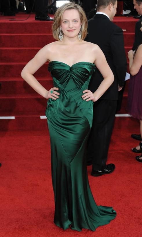 Elizabeth Moss Golden Globes 2011