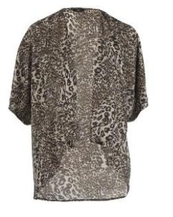 F&F Animal Print Shrug, £14 - currently £7