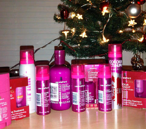My Lee Stafford hair goodies