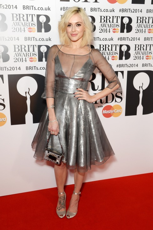 Fearne Cotton BRITs 2014