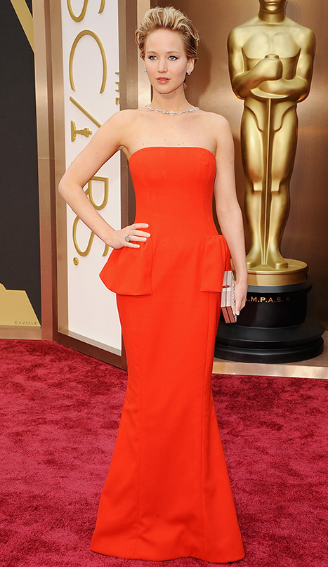 Jennifer Lawrence Oscars 2014