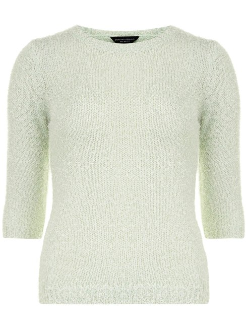 green knitted tee, Dorothy Perkins