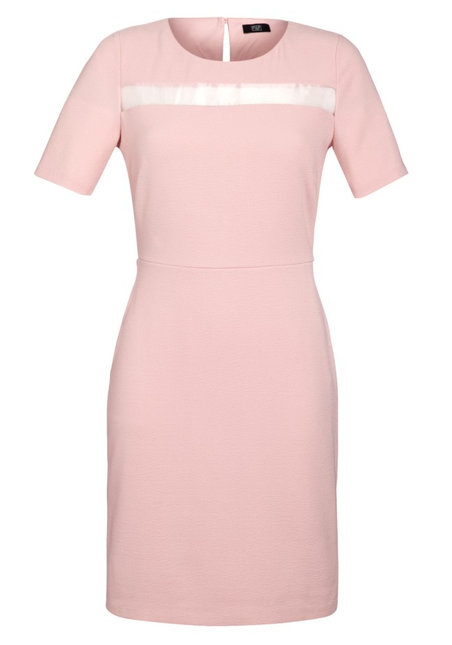 F&F Organza Insert Crepe Dress, £20, Tesco