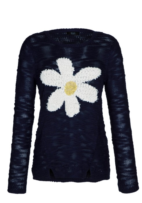 Daisy jumper, knitwear, F&F, Clothing at Tesco