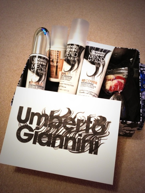 The Mend My Hair range from Umberto Giannini
