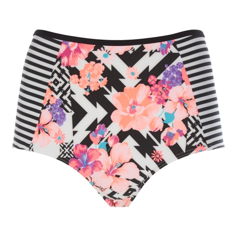 Debenhams Red Herring bikini bottoms, Fashion Targets Breast Cancer