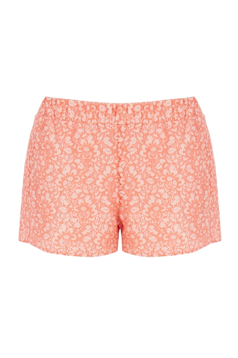 Warehouse Floral Two Tone Shorts, Fashion Targets Breast Cancer