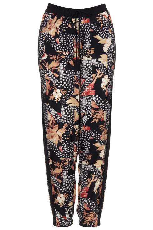 Feather Leaf Woven Joggers Topshop, Printed Joggers