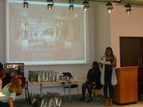 Karen Millen AW14 presentation