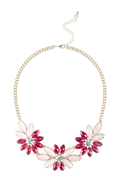 Debenhams Floozie by Frost French Flower Statement Necklace