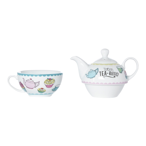 Debenhams Think Pink Tea for One Set, RRP £20.00