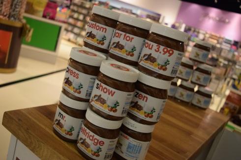 Personalised Nutella Jar