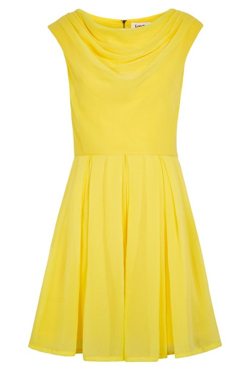 Yellow Louche Bergen Dress, £59. JOY
