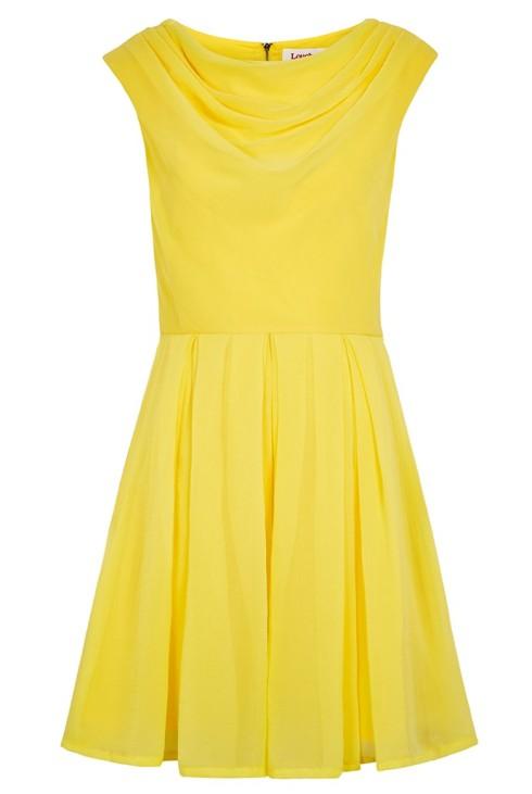 Yellow Louche Bergen Dress, £59. JOY
