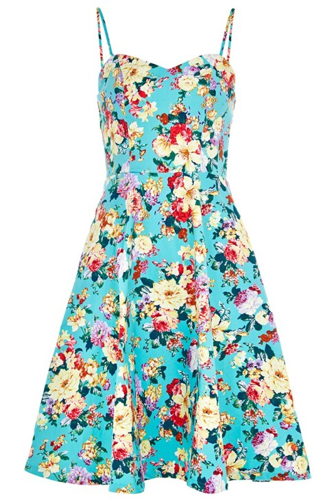 Louche Rosalia Floral Dress, £59, JOY