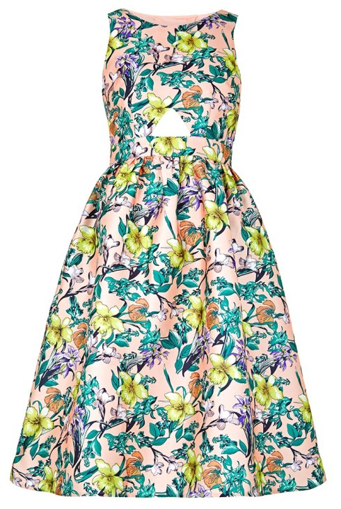 Floral Louche Luxe Tully Floral Dress, £120, JOY